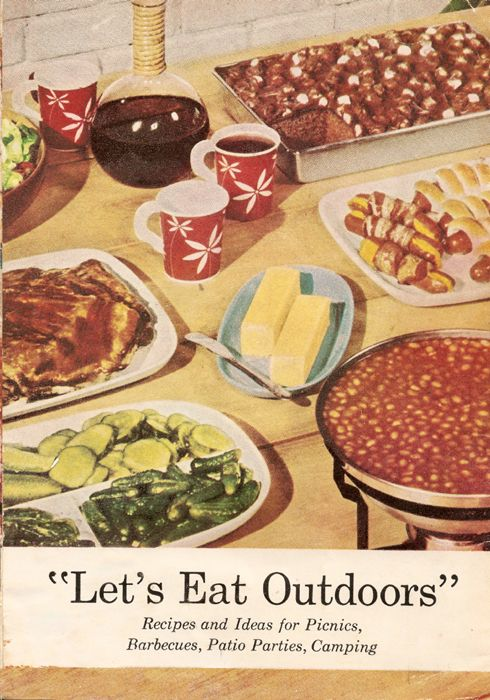 Vintage Cookout Recipes from the top brands of the 1950s | | The Vodka Party - Cocktail Recipes, Party Recipes & More