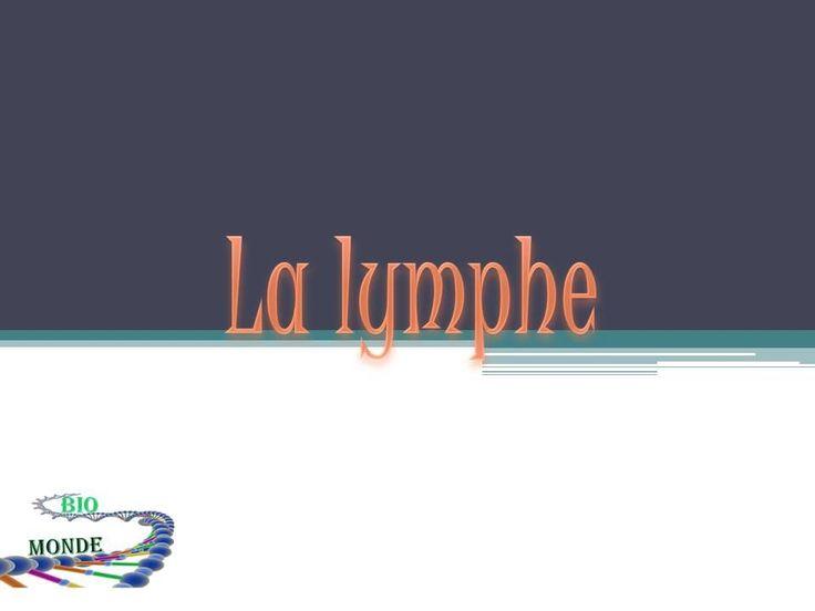 La lymphe est un liquide qui parcourt tout le corps, dans cette vidéo on explique l'origine de ce liquide, la circulation lymphatique et le système lymphatique... Page facebook: https://www.facebook.com/MondeBiologique?ref=hl