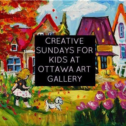 Ottawa Art Gallery's Creative Sundays For Kids | momstown Ottawa