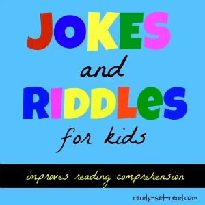 Jokes and Riddles for Kids books and a free printable of winter riddles