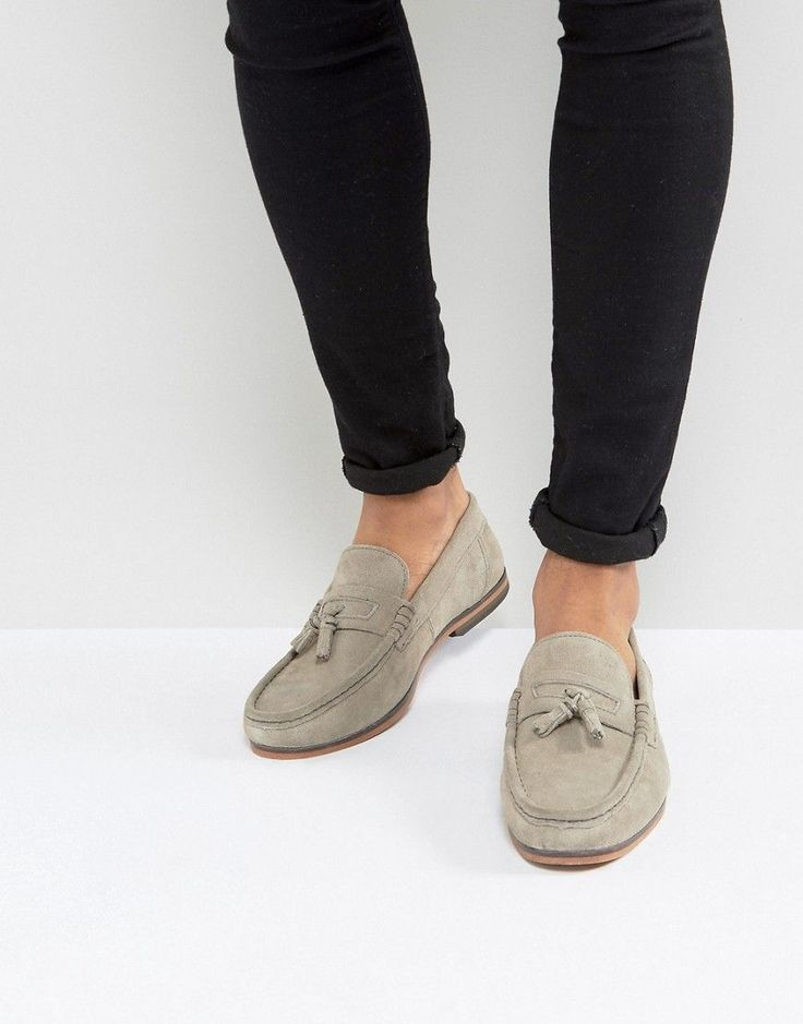 Tassel Loafer in Grey and Black Print - Grey Asos rmg4KH4mv0