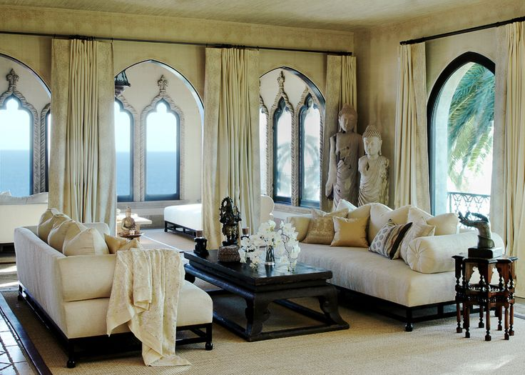 LOVE The Windows Asian Coffee Table Buddha Statues And Indian Hexagonal End