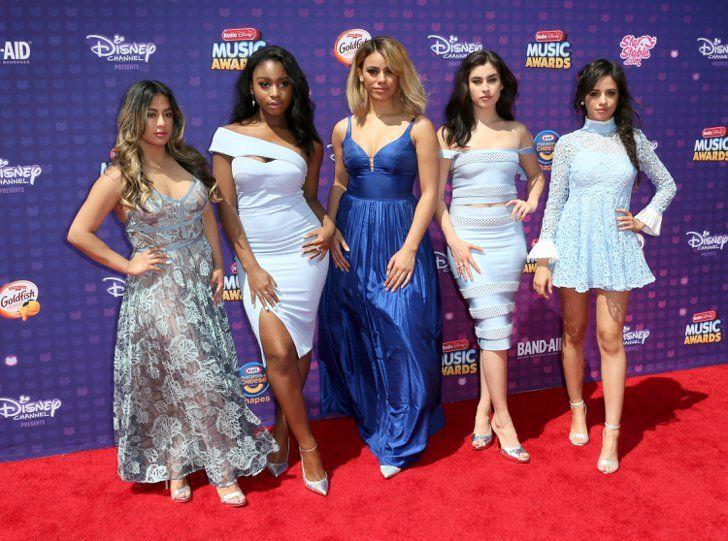 Pin for Later: Fifth Harmony Brought the Blues to the Radio Disney Music Awards