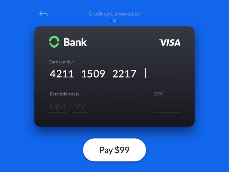 Credit сard сheckout