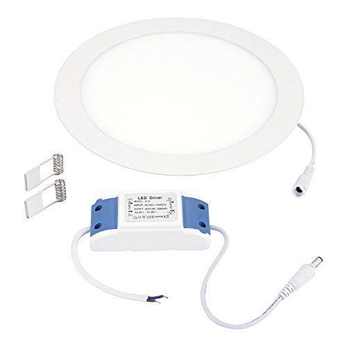 Biard – Panneau Lumineux – Dalle LED Ronde de 225mm pour Plafond Suspendu – Basse Consommation 18W – Garantie 5 Ans: Idéal pour remplacer…