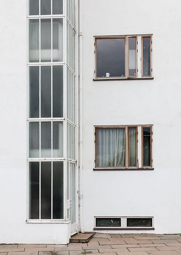 Window,Arne Jacobsen. Bellavista housing estate