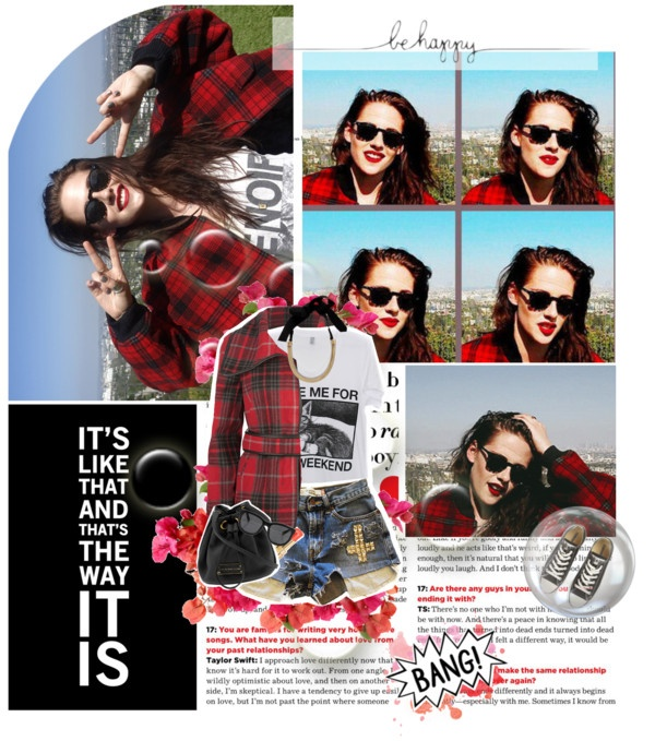 """Kristen Stewart"" by jesssilva ❤ liked on Polyvore"