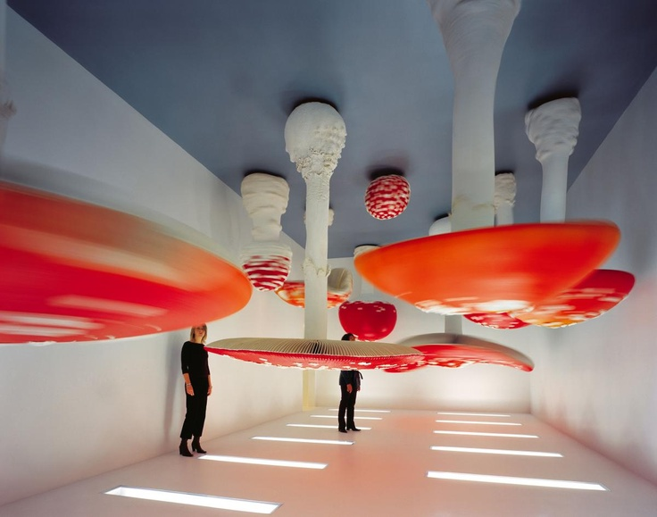 Carsten Höller (born December 1961) is a Belgian artist. He lives and works in Stockholm, Sweden. Today, he also shares a house in Ghana with colleague Marcel Odenbach. In their form, Höller's works are occasionally reminiscent of scientific laboratory arrangements, allowing the viewer to become the subject of an experiment.