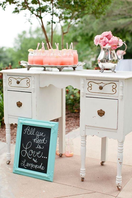 Bell simas ideas para decorar una boda con muebles - Decoracion muebles vintage ...
