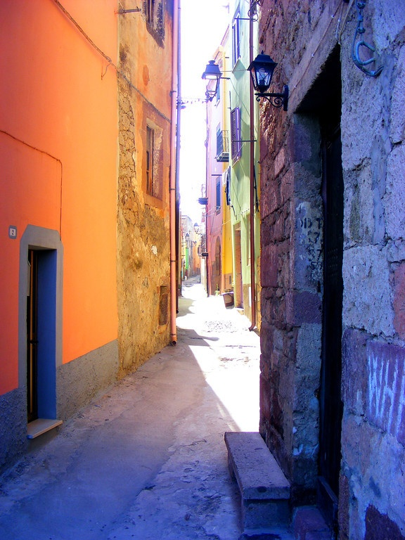 A quiet corner in a sleepy town #Italy #Sardinia #Bosa
