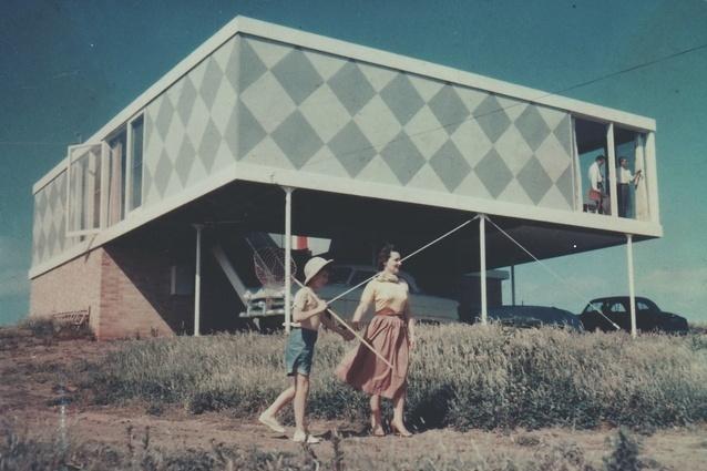 Robin Boyd's Marriott House, Flinders 1954. Image: Robin Boyd Foundation