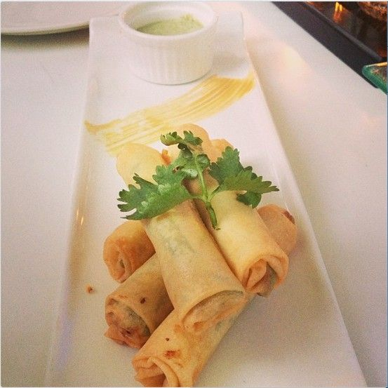 Popiah Rolls with Cheese,Water Chestnut & Asparagus. Picture Courtesy : Anuja Deora
