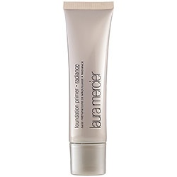 Laura Mercier - Foundation Primer, Radiance: Laura Mercier, the pioneer of Foundation Primer, introduces a breakthrough radiant formula to the collection. Foundation Primer Radiance not only provides a smooth, silky surface for makeup application, but also it adds a sheer, healthy glow to the skin.