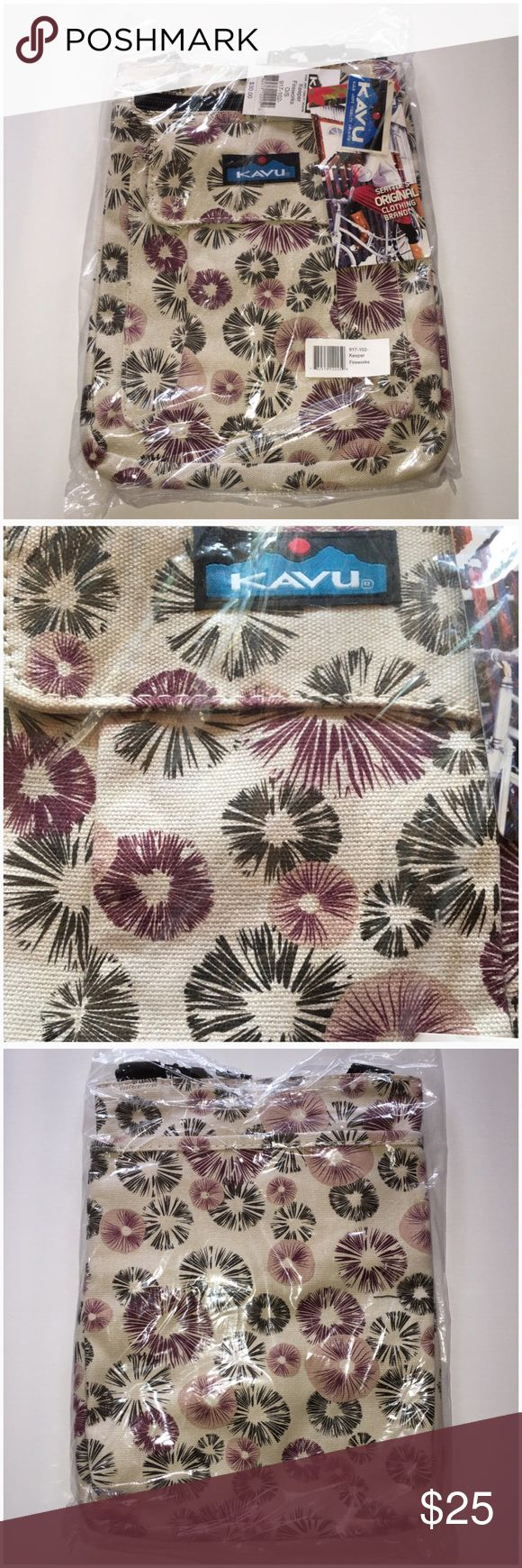 NWT Kavu cross body purse Brand new. Pattern is fireworks 💥 Price Firm. Paid full for it. kavu Bags Crossbody Bags