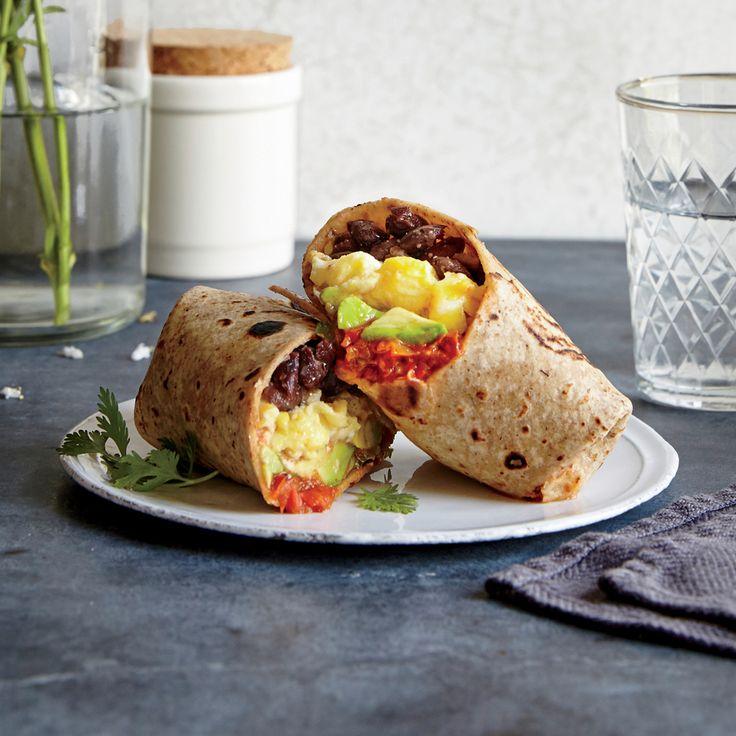 Huevos Rancheros Burritos | MyRecipes