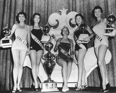 1954 - Miriam Stevenson won over 33 contestant