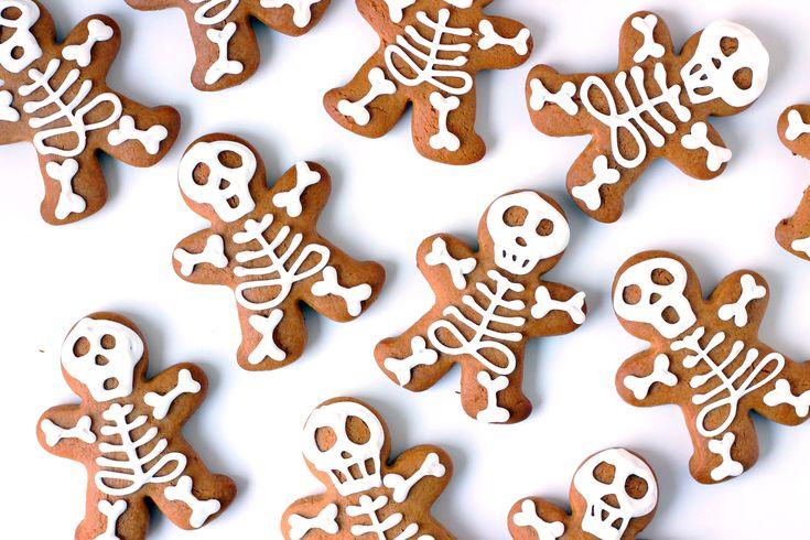 Skeletkagemænd // Kagemænd med citron og kardemomme | En Madblog