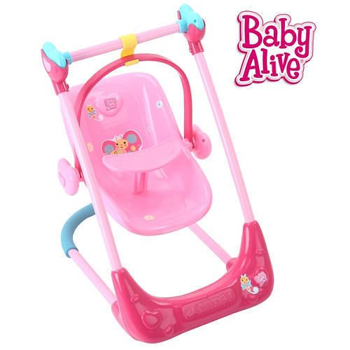 Baby Alive Swing Chair and High Chair Combo #HauckLtd