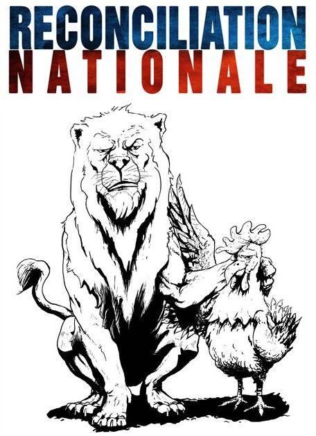 Parce que le travail de métapolitique et de pédagogie par l'humour ne suffit plus, Alain Soral et Dieudonné lancent le parti politique « Réconciliation nationale ». Explications.