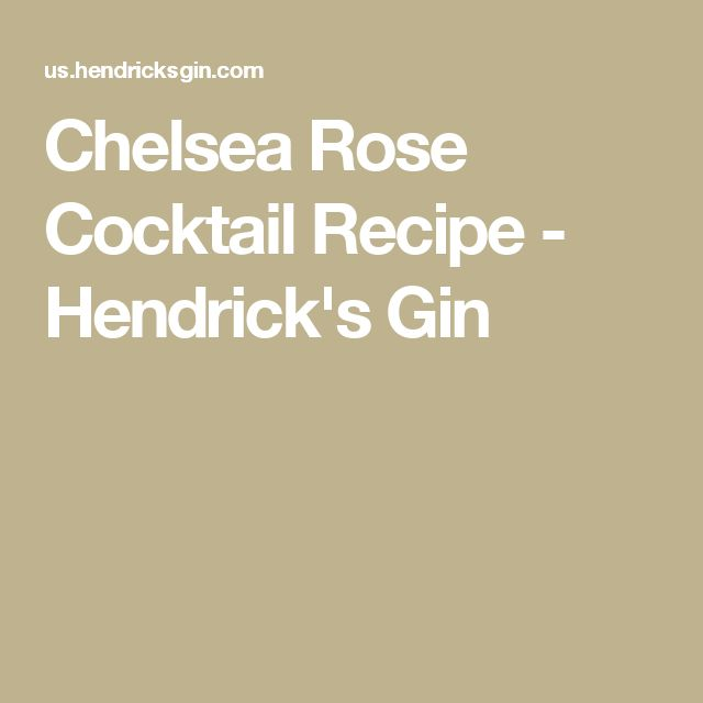 1 Part Hendrick's Gin 3 Parts Cloudy Apple Juice 5 Fresh Raspberries Dash Fresh Lemon