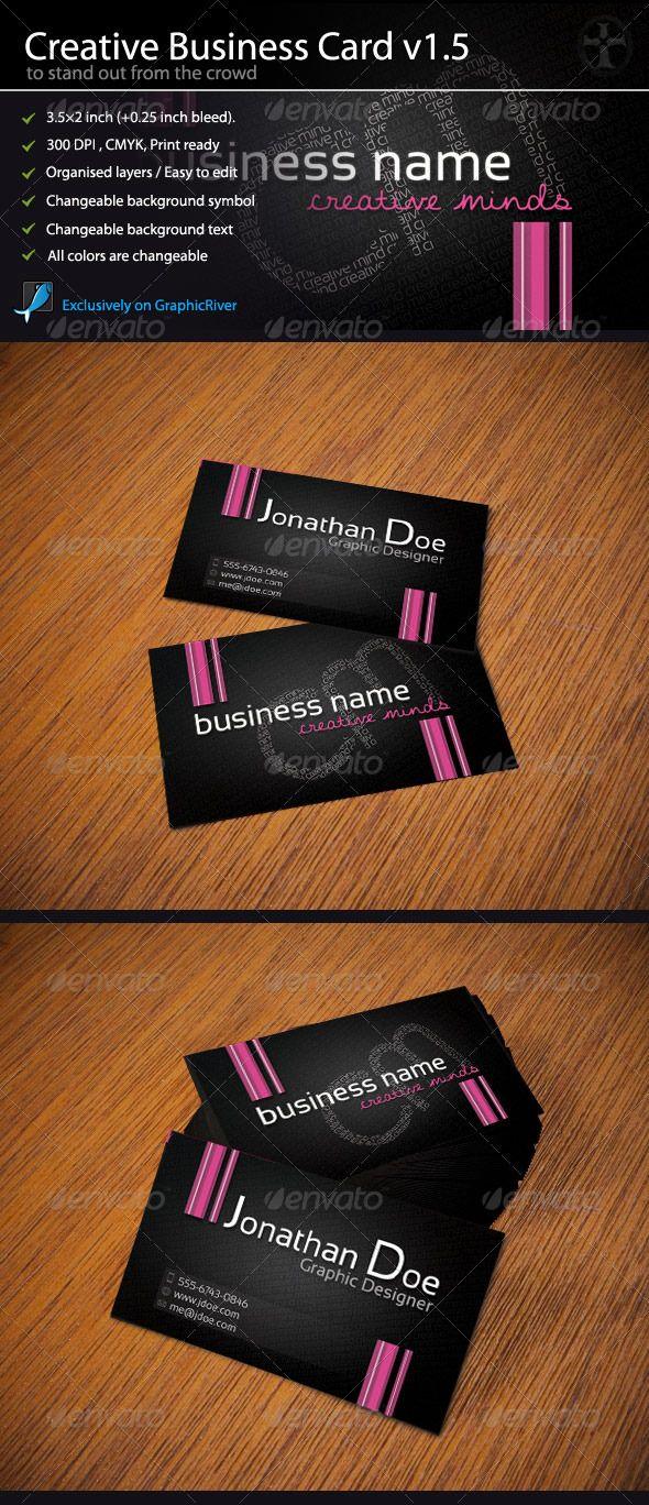 Creative Business Card - Intelligent Typo