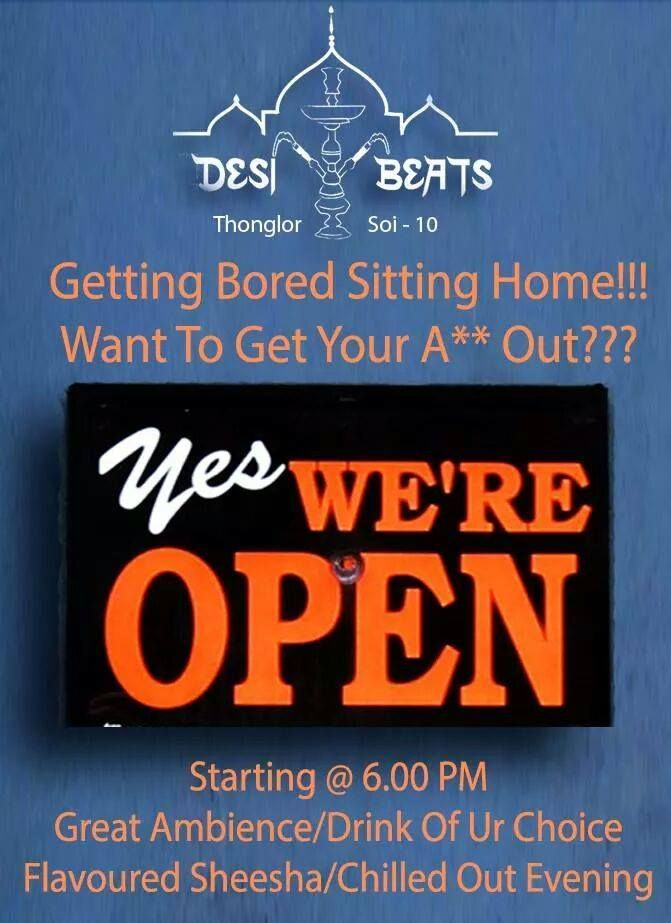 SO what if theres a curfew? Who can Stop us from Partying??? Come Join Us ! We're Open