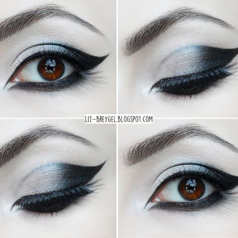 Gothic Eye Makeup By Elizabeth B