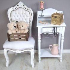 """Sekretarzyk z serii Meridian   """"Meridian"""" desk #sekretarzyk #biurko #białe #stylowe #romantyczne #meble #desk #white #stylish #romantic #furniture"""