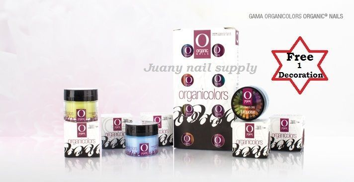Nail Art Accessories: Organic Nails Products Organicolor Gama 1 -> BUY IT NOW ONLY: $44.99 on eBay!