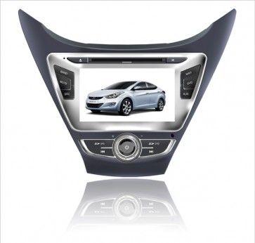 Autoradio Hyundai new Elantra 2012 avec écran tactile TFT LCD & fonction Bluetooth ,SD,USB,DVD,GPS