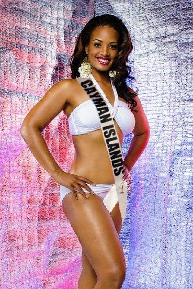 Miss Cayman Islands At Miss Universe