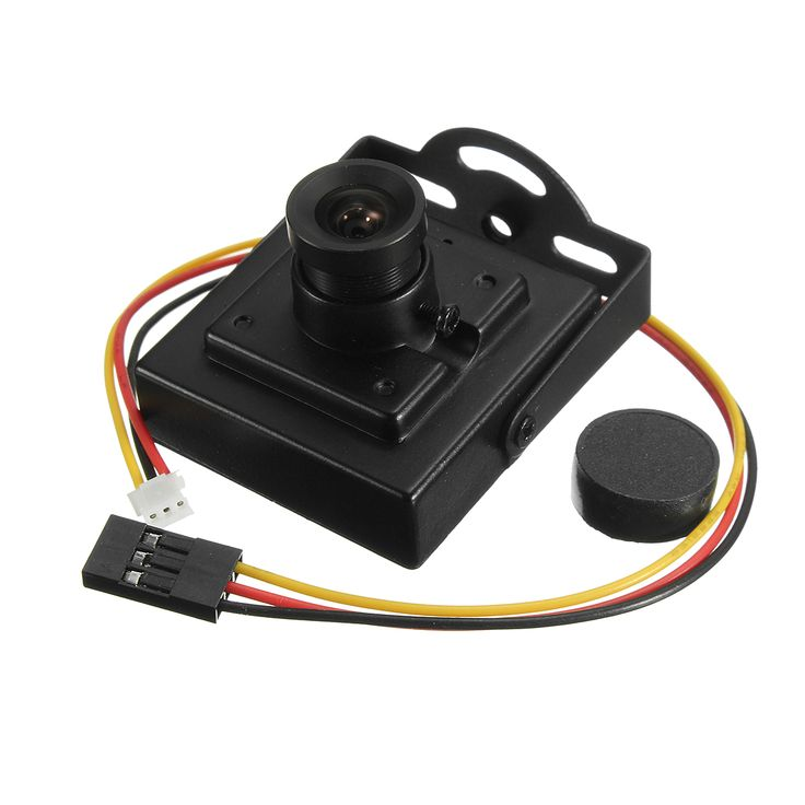 "700TVL 3.6mm Lens 1/3"" CMOS PAL Mini FPV CCTV Camera Family Monitor"