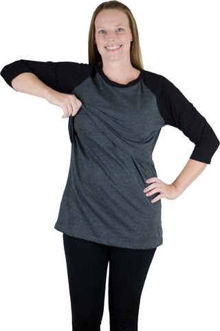 Raglan Nursing Shirt