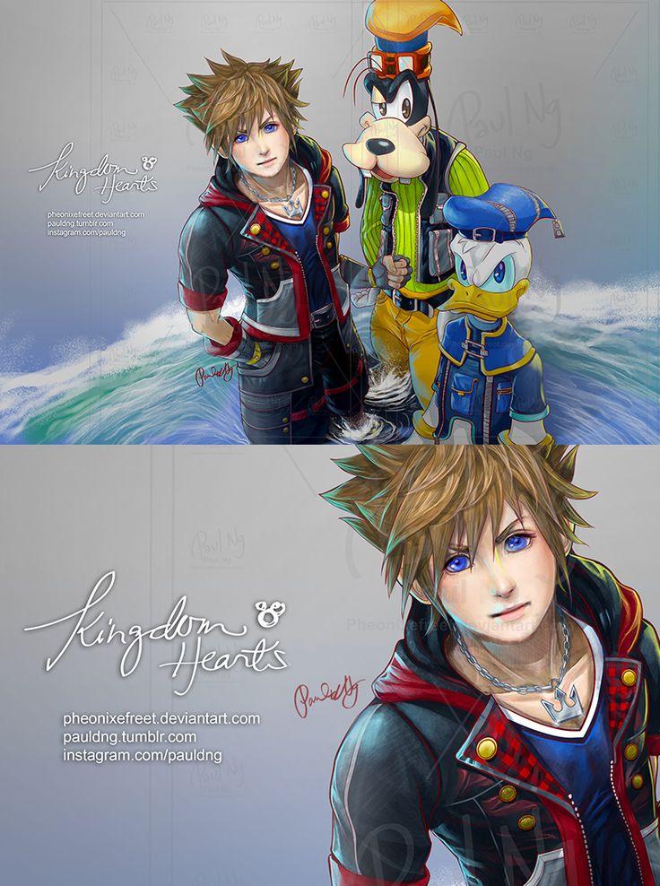 pauldng: Kingdom Hearts 3 SORA! Finally It's... | Next Door Gamer