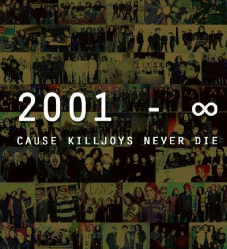 Killjoys are forever,.we will never stop believing!