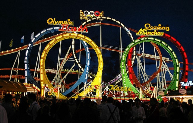 olympia looping germany awesome roller coaster. Black Bedroom Furniture Sets. Home Design Ideas