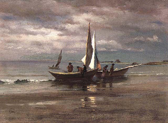 1880's beaches | ... Beach Painters: Art Along theNorth Shore of Massachusetts, 1880-1920
