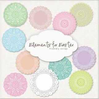 Freebie doilies to print for backgrounds