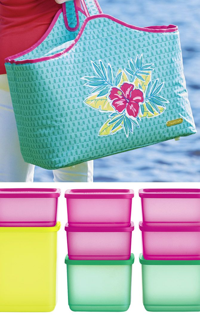 Tropical Glamour Picnic Set. Bring a taste of tropical glam to any picnic party!