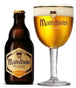 Maredsous Blonde - Bierebel.com, la référence des bières belges