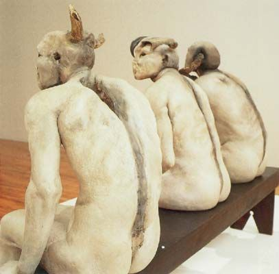 Jane Alexander Butcher Boys from 'African Adventure', 1985-6 Mixed media