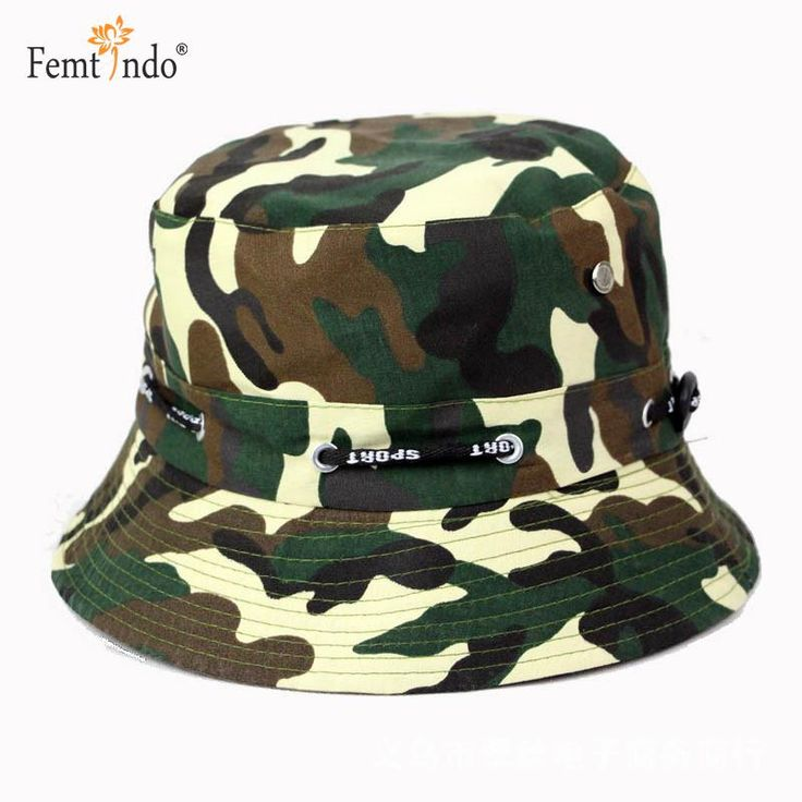 >> Click to Buy << Camouflage Sunscreen Bucket Hat Outdoor Travel Fisherman Hat Sombrero Camuflaje Militar Gorro Pescador Hip Hop Gorras Hats Cap #Affiliate