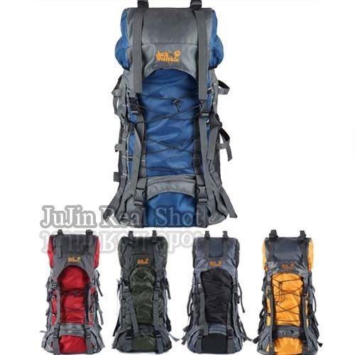 Hiking Camping Hunting Fishing Backpack Outdoor Sports Internal frame Gear 55L #JuJin