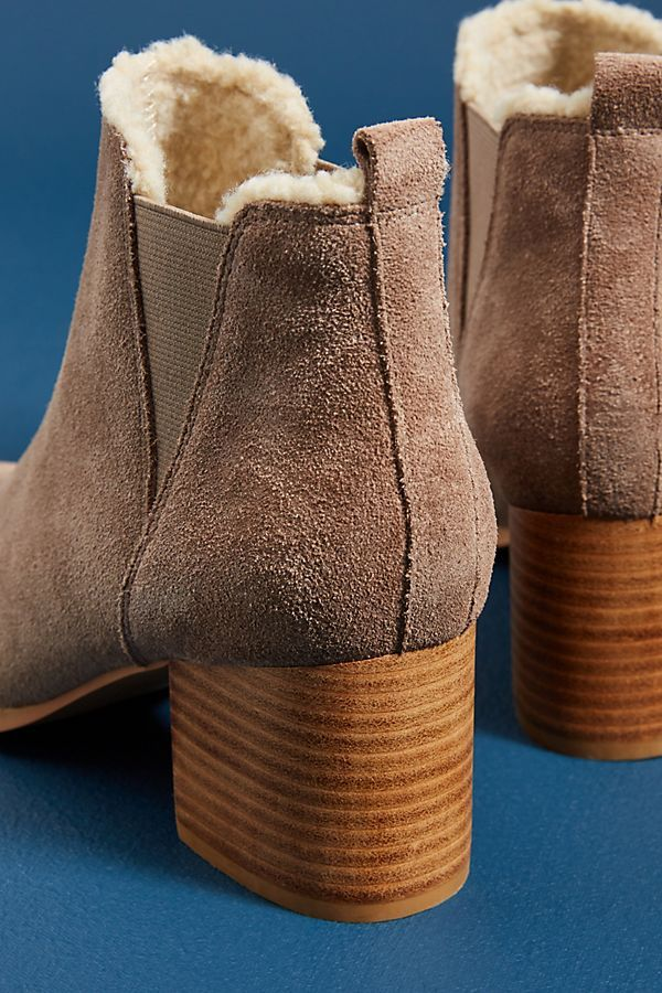 5f40e22a43 Slide View  4  Liendo by Seychelles Shearling-Lined Booties