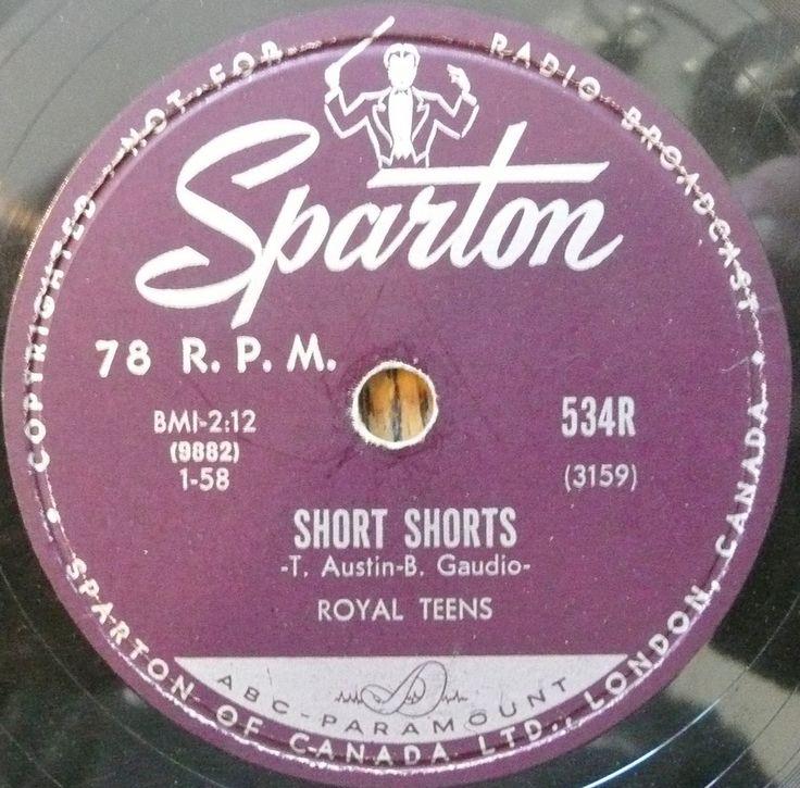 Short Shorts, Royal Teens, Sparton
