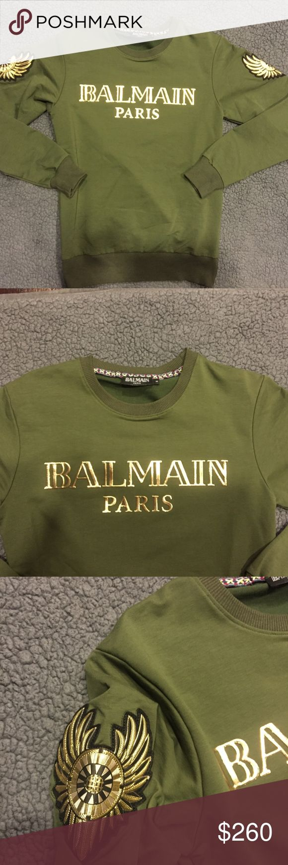 Balmain Brand new Balmain sweater without tags Balmain Sweaters