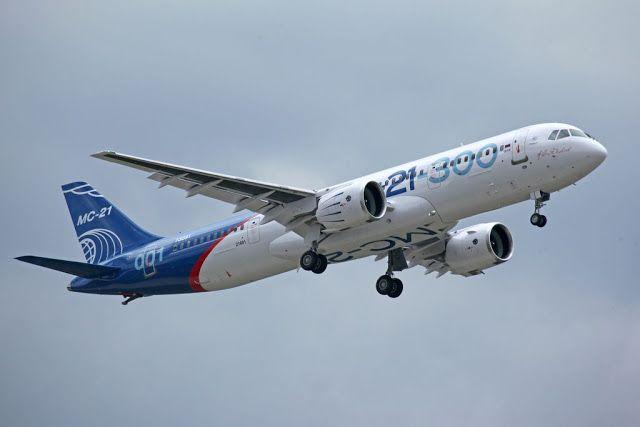 Транспортный блог Saroavto: Третий полет МС-21
