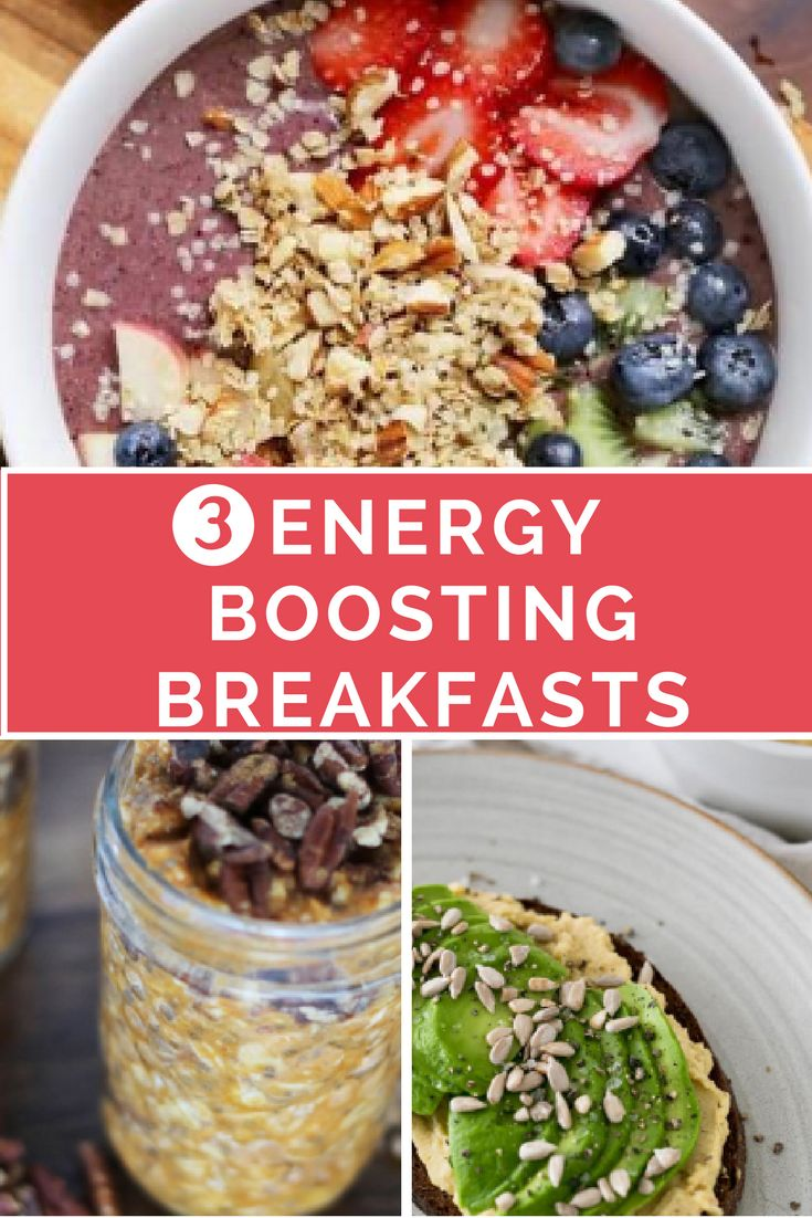 energy boosting breakfasts. foods to increase your energy as a new mom