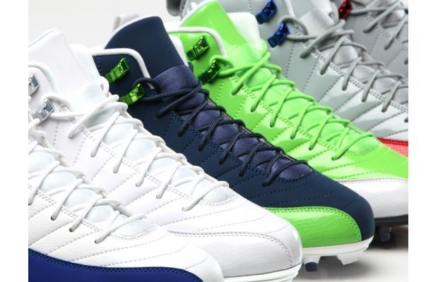 It seems as though Michael Jordan's Jumpman brand has reached far more sports than just basketball. The Jordan brand now sponsors athletes in basketball, baseball, and football. The basketball shoes have been adapted to function for the various star athletes under the Jumpman brand. Its newest members? Cowboys wide receiver Dez Bryant and Seahawks safety Earl Thomas. --Brett