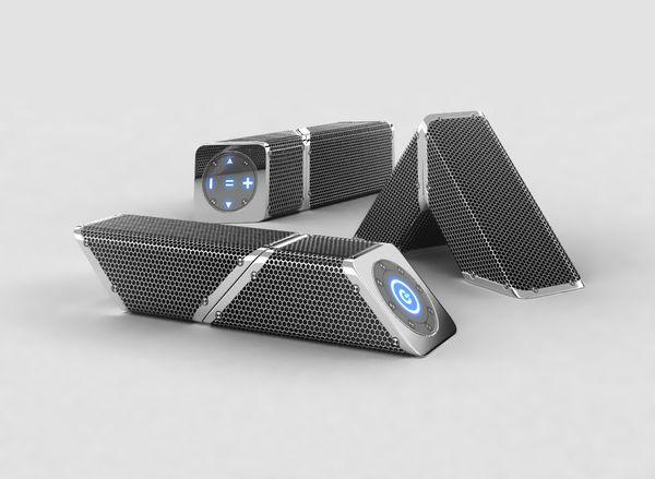 """Portable speakers """"Snakes"""" on Behance"""
